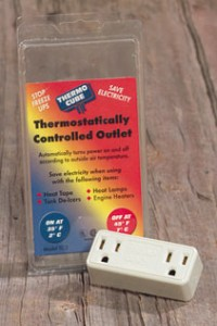 Therrmostatically controlled outlet 1