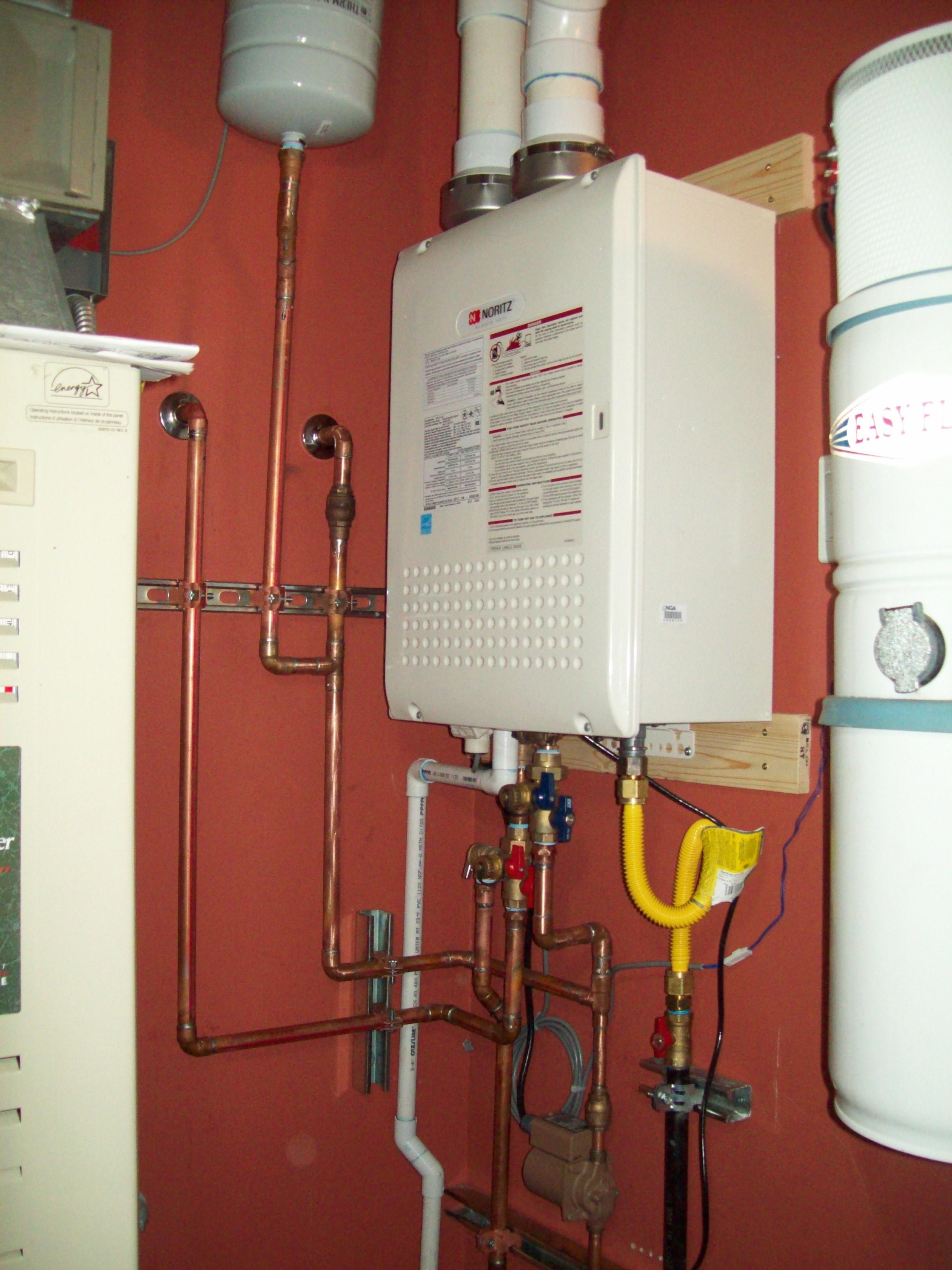 Noritz Nrc111 Condensing Unit With Recirc Pump White