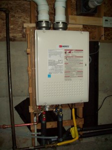 Noritz NRC111 Tankless Install In Crawl Space 2