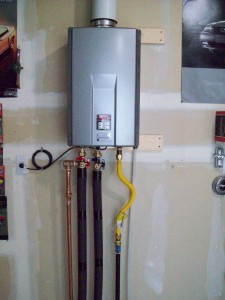 Tankless Water Heater Install Photos White Knight Plumbing