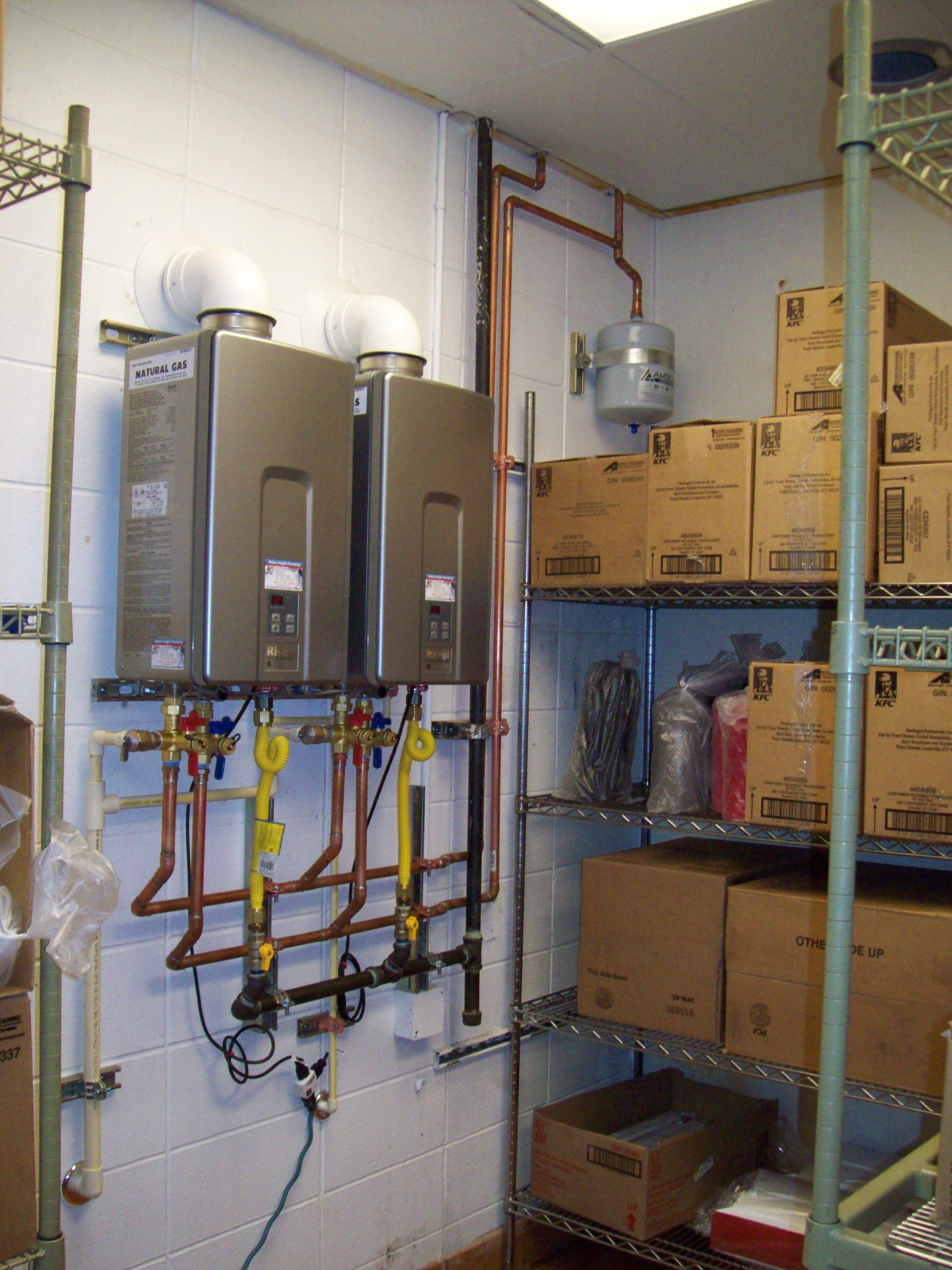 Rinnai Rl94i Commercial Tankless Water Heater Installation