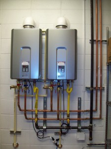 Rinnai RL94I Commercial Tankless Water Heater Installation With EZ Connect Kit