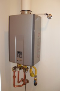 Tankless water heater 010