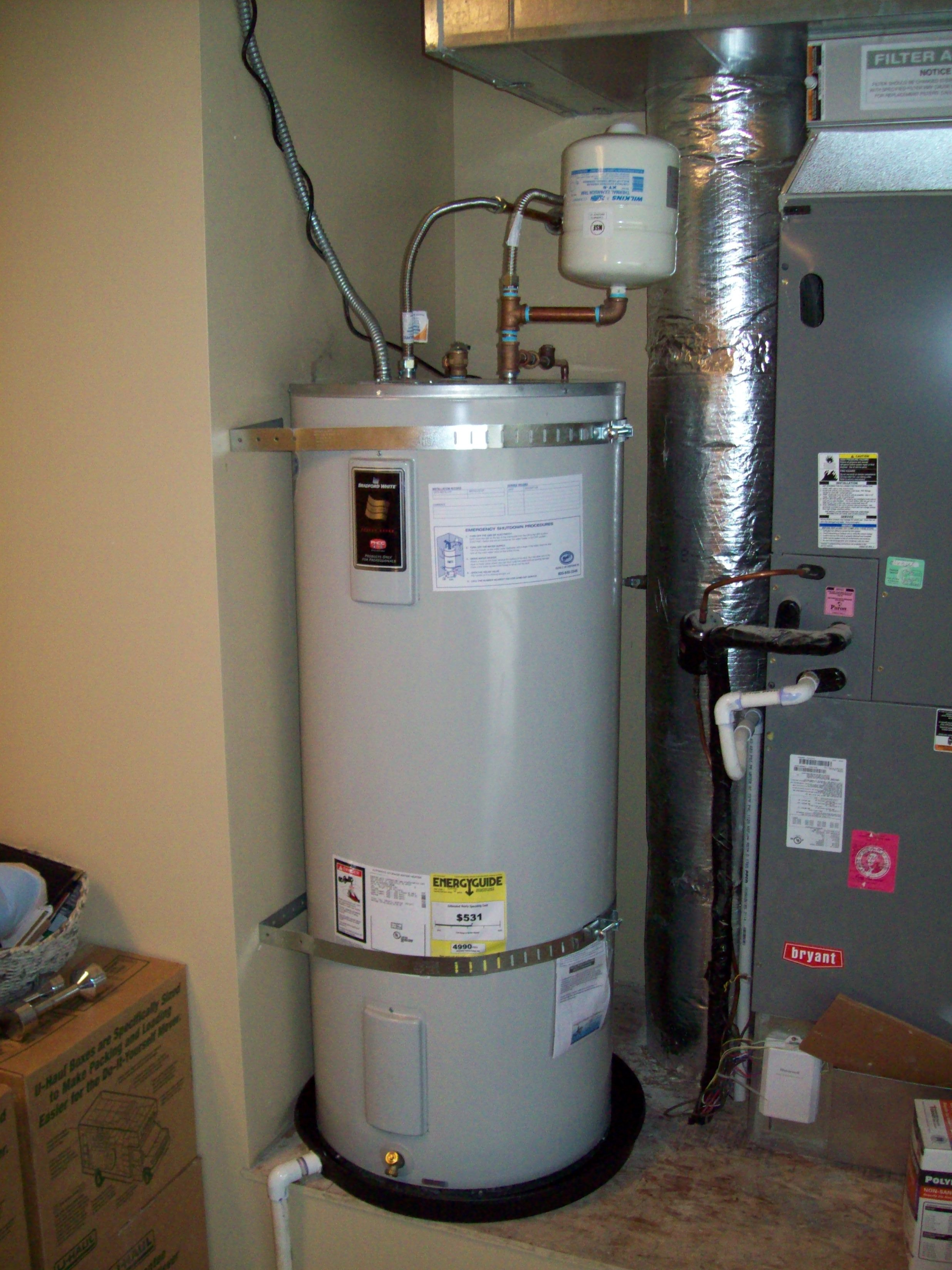Water Heater White Knight Plumbing